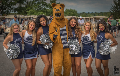 Penn State Cheer and Lionettes  2017