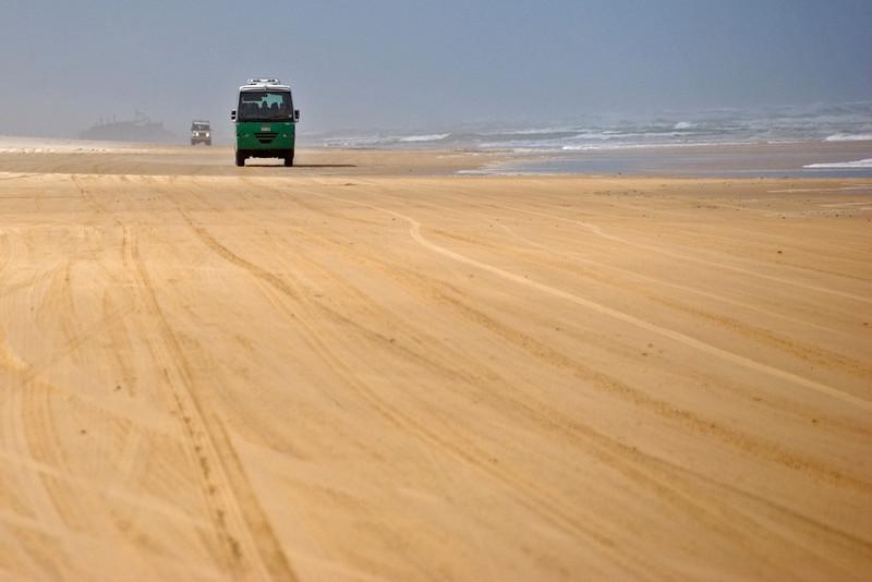 Bus on Beach 1, Fraser Island - Queensland, Australia.jpg