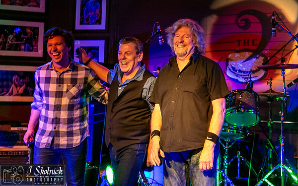 Band of Friends Gerry McAvoy Davey Knowles Ted McKenna