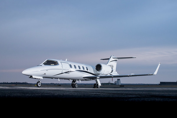 LearJet 31 N31TK (High Res)