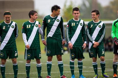 CMU Men's Soccer 2014 - 3
