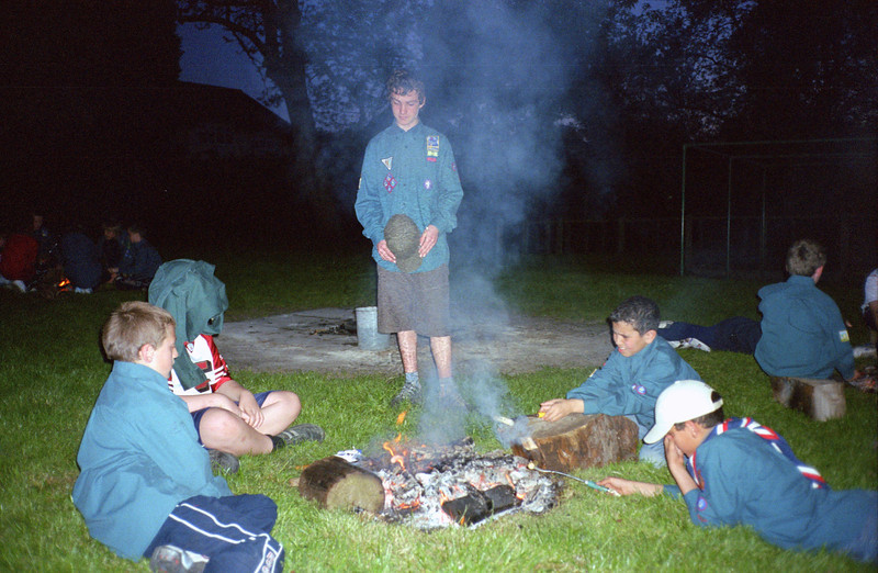 Scouts Cooking on Fires 2006
