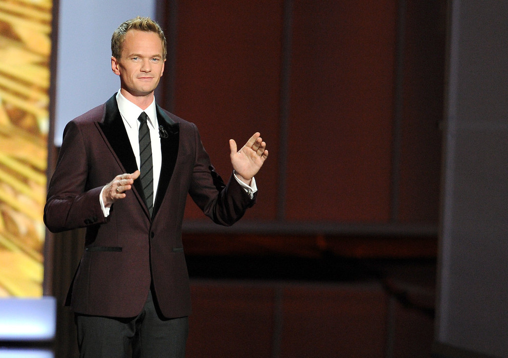 . Host Neil Patrick Harris speaks onstage during the 65th Annual Primetime Emmy Awards held at Nokia Theatre L.A. Live on September 22, 2013 in Los Angeles, California.  (Photo by Kevin Winter/Getty Images)