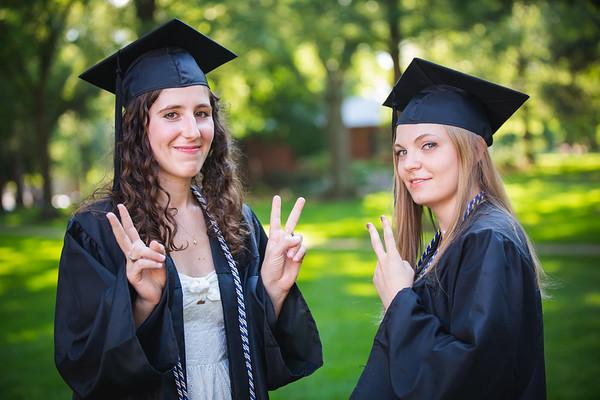Nika Fendler - Davidson Graduation