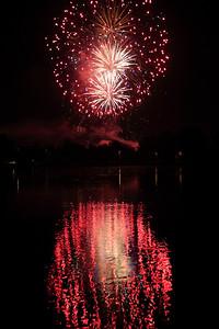 2016 Fireworks at Veresegyház — 2016-os Tűzijáték Veresegyházon