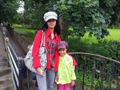 Dhivya UK trip