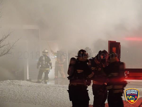 House fire on January 18, 2018