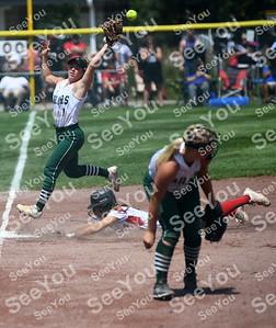 State Softball 3A: Davenport Assumption Vs Columbus Catholic