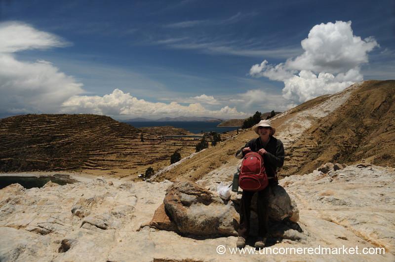Taking a Break on Isla del Sol - Lake Titicaca, Bolivia