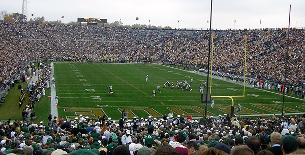 MSU at Purdue football 2005