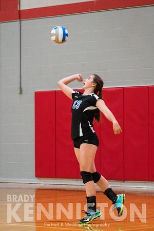 10-11-16 Garber JV & Varsity Volleyball