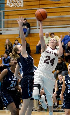 Montini Girls Basketball vs. Lake Park