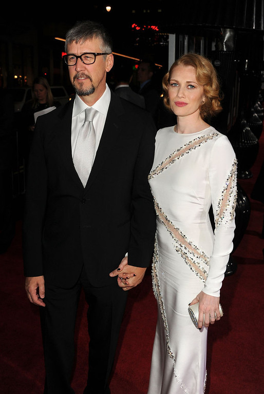 ". Actors Alan Ruck and Mireille Enos arrive at Warner Bros. Pictures\' ""Gangster Squad\"" premiere at Grauman\'s Chinese Theatre on January 7, 2013 in Hollywood, California.  (Photo by Kevin Winter/Getty Images)"