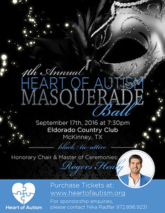 Heart of Autism 2016 Masquerade Ball