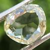 3.46ct Portrait Rose Cut Trapezoid Diamond GIA UV VVS2 15