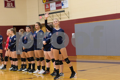 Sayre Volleyball ~ NEB 9-11-18