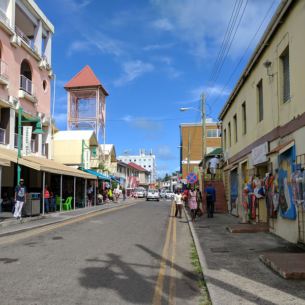 Same shops, different island