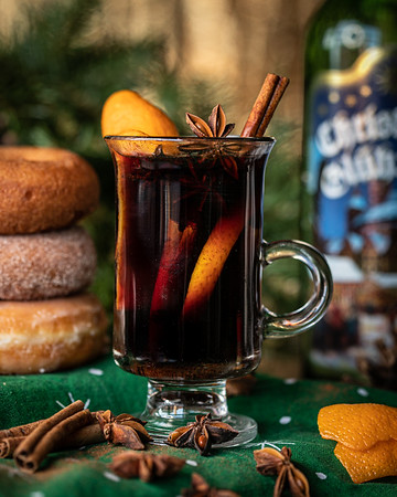 Holiday Cocktail - Mulled Wine