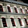 The restored  Pico Building, a historic structure off Olvera Plaza.