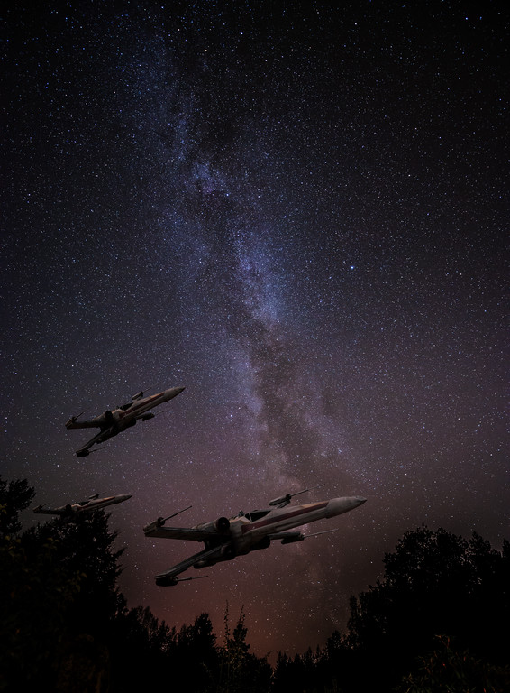 X-Wing Squadron in Sweden