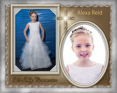 Alexa's 1st Holy Communion Party May 19, 2018