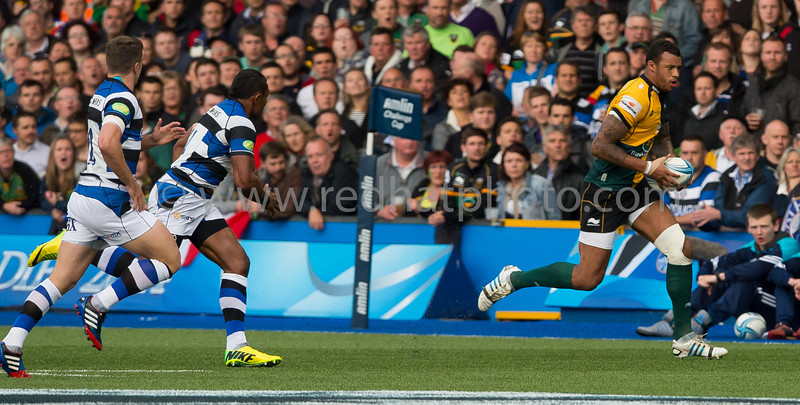 Bath Rugby vs Northampton Saints, Amlin Challenge Cup Final, Cardiff Arms Park, 23 May 2014