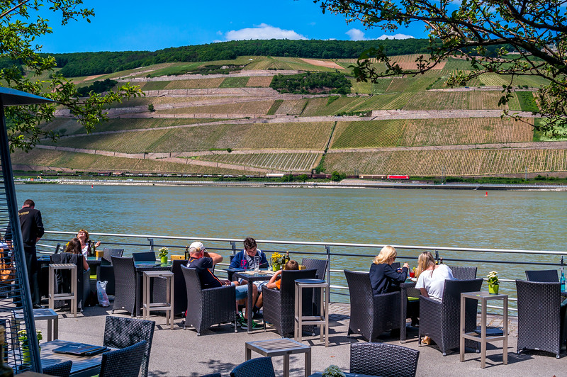 Dining by the Rhine