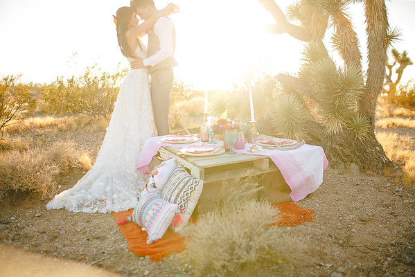 Boho Stylized Shoot (joshua trees)