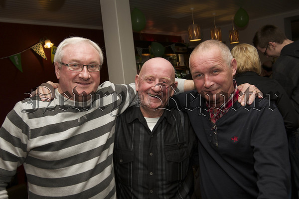 Charity Night in aid of Macmillan Nurses in the Armagh Down Bar on Saturday last.Micky Kavanagh, Daniel Flynn, Jimmy Mc Mahon.10W45N721