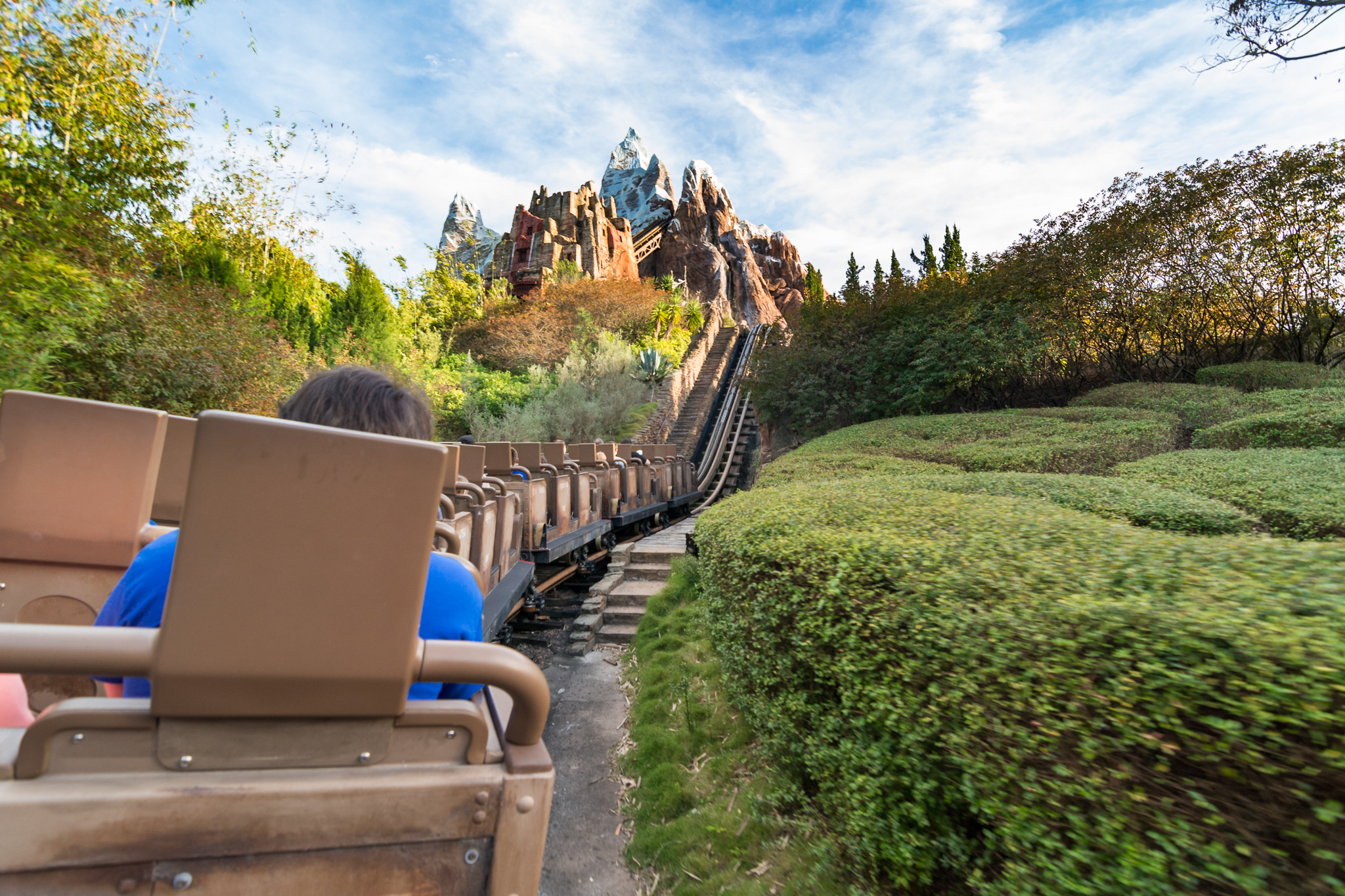 Expedition Everest - First Lift at Disney's Animal Kingdom