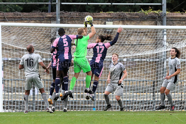 CHIPPENHAM TOWN  V  DULWICH HAMLET MATCH PICTURES  17th OCTOBER 2020