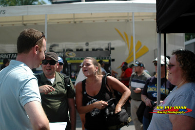 Darlington Raceway NASCAR/Jeff Gluck TweetUp