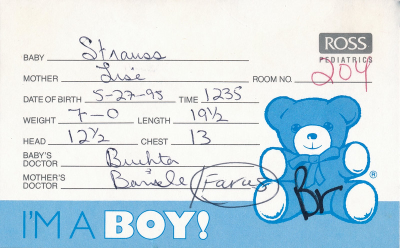 1995 Will Baby Book 00007.jpg