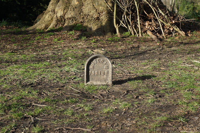 Morden Hall Park - Mitcham Parish Boundary Marker