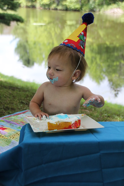 Happy 1st Birthday, Nicholas! 8-18-16