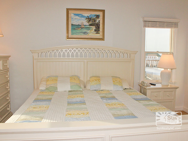2nd King Master Bedroom with Ocean Views