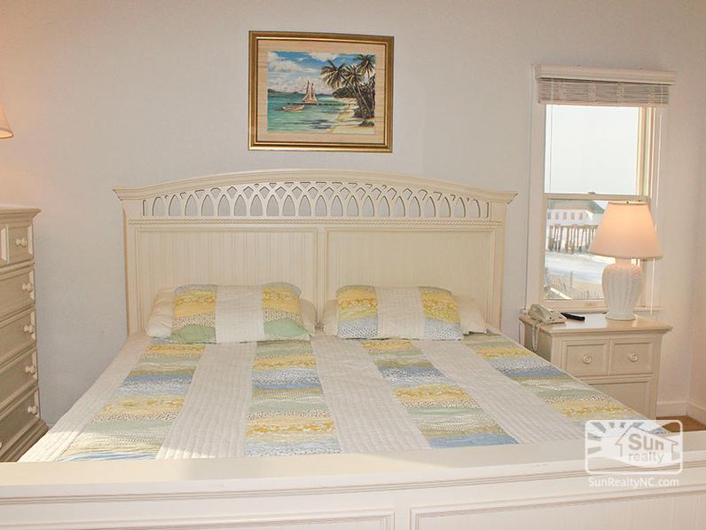 2nd King Master Bedroom with Ocean Views