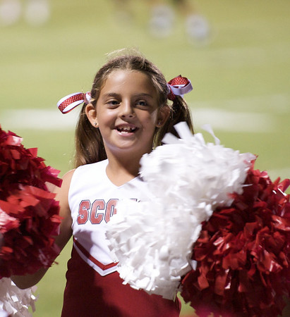 2009-10-16 - St. Andrews Homecoming - Morgan Cheerleading