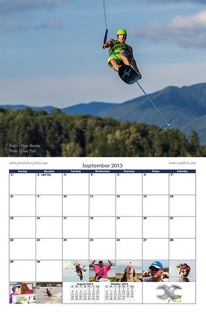 2013 Hydrofoil Calendar - Sponsored by X Air Foils - Order at www.greatlakes-photo.com
