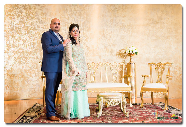 Faizaan & Hadia's Reception