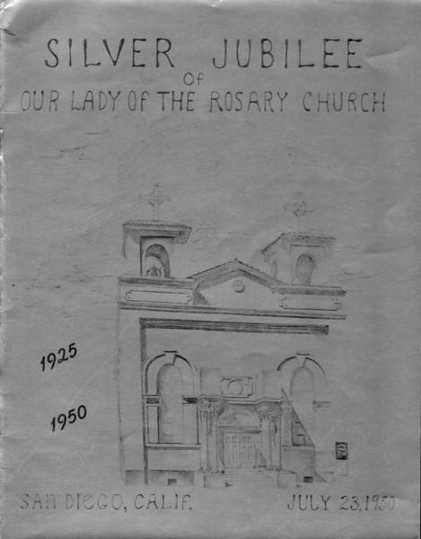 1950 Silver Jubilee Program
