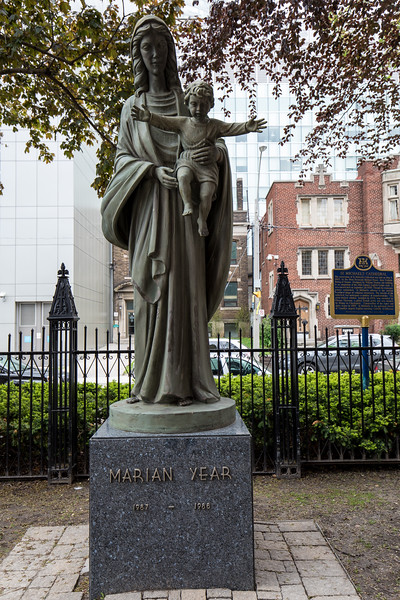 Marian Year Statue