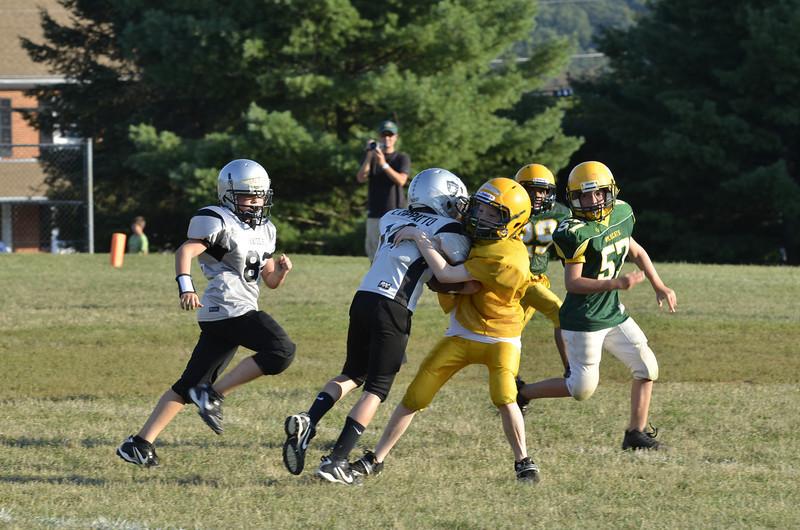 Wildcats vs Raiders Scrimmage 051.JPG