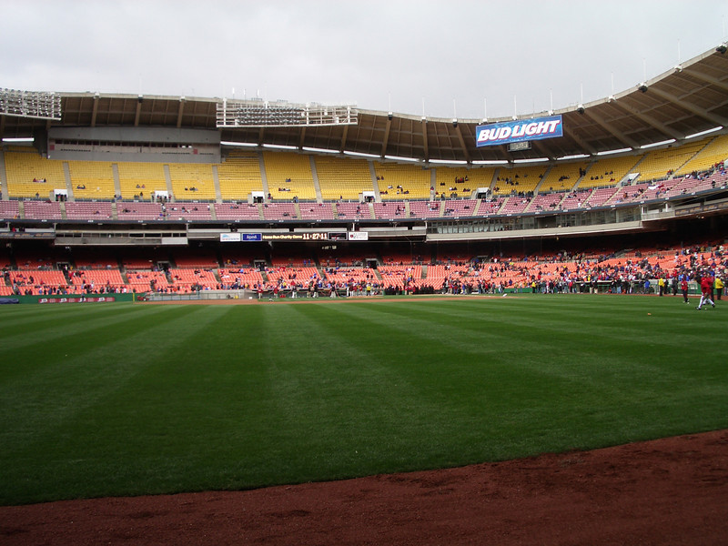 nats first exhibition game in RFK (8).jpg