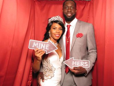 Denetria & Alvin's Wedding