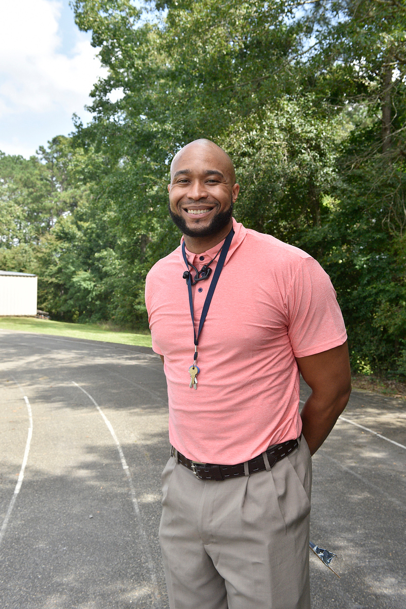 Jeremy Mayweather, head girls basketball and cross-country coach at John Milledge Academy