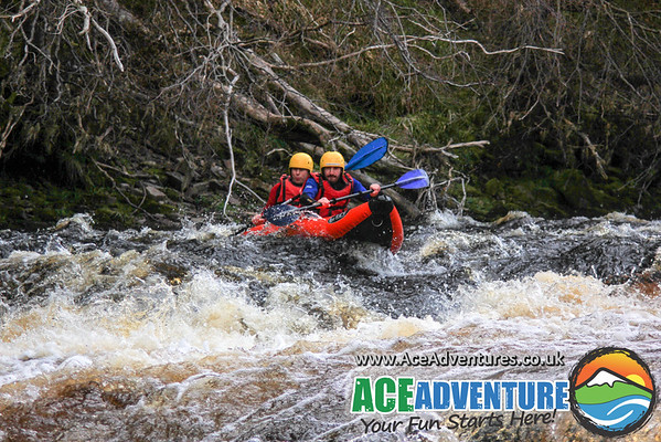 30th April Half Day Rafting & Canoe