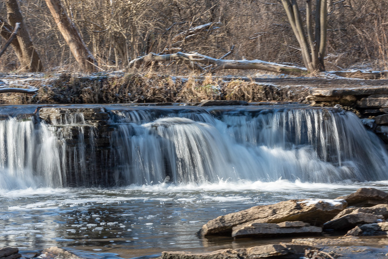 Waterfall Glenn, DuPage County, IL.