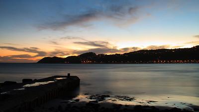 Lyall Bay (sunset)