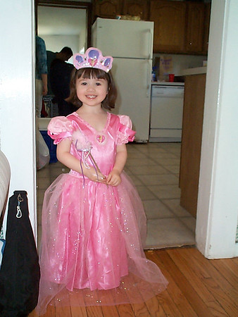 Emily's 3rd Birthday - May 2, 2003